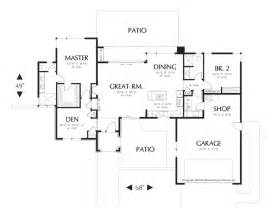 Open Floor Plan House Plans One Story by One Story Open Floor Plans Rugdots