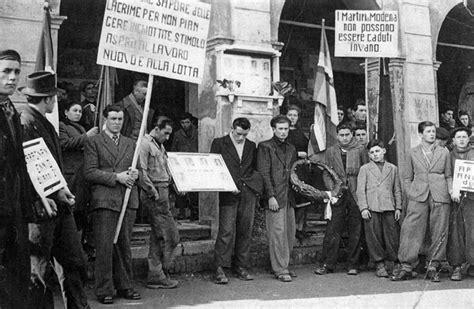 casa delle donne modena i morti di modena gennaio 1950 radio rock revolution