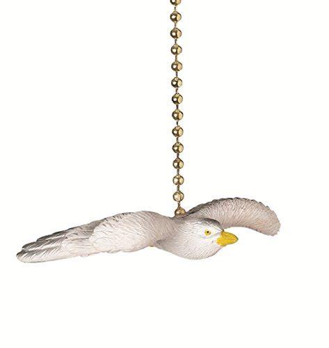 ceiling fan pull chain ornaments flying seagull decorative ceiling fan light pull ornament