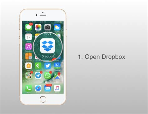 dropbox iphone how to clear dropbox cache on iphone or ipad to free up