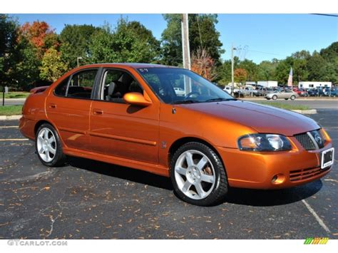 orange nissan sentra 2005 volcanic orange nissan sentra se r spec v 72040460