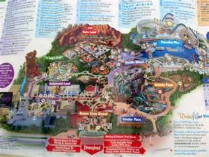 california adventure map with cars land crowded opening day at disney california adventure park