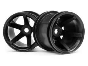 Dish Black Truck Wheels 2140 Mt Wheels Black Offset 2pcs