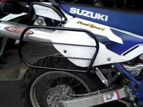 Suzuki Dr650 Rack Suzuki Dr650 With Pannier Racks And Two Rear Cargo