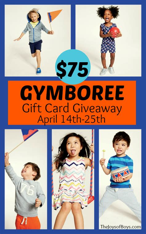 Gymboree Gift Card - cute clothes for boys gymboree giveaway
