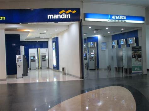 bca atm atm bca mandiri free stock photo public domain pictures