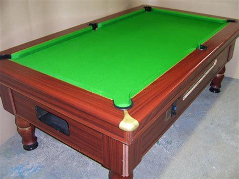 ex pub pool tables excel mayfair 7x4 slate bed pub pool table
