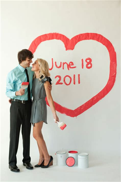 save money use paint wedding unveils funny wedding photos save the date archives chicago wedding blog