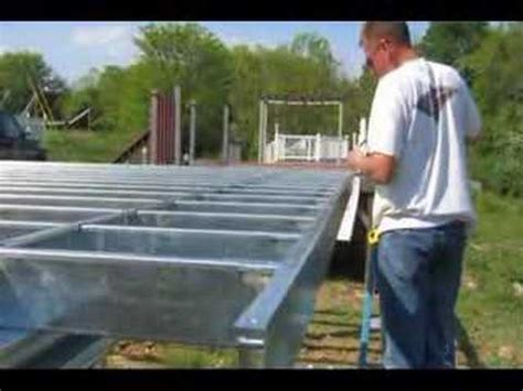 Cabin Plans With Basement by Deck On Steel Youtube