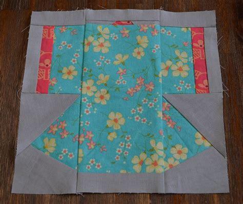 kimono pattern block kimono paper pieced by ms midge via flickr quilt blocks