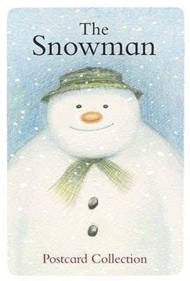 the snowman picture book postcards from the snowman and the snowdog by raymond