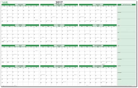 yearly planning calendar printable calendar template 2016
