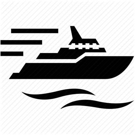 boat trip icon boat relaxation sea ship speed tourism travel trip