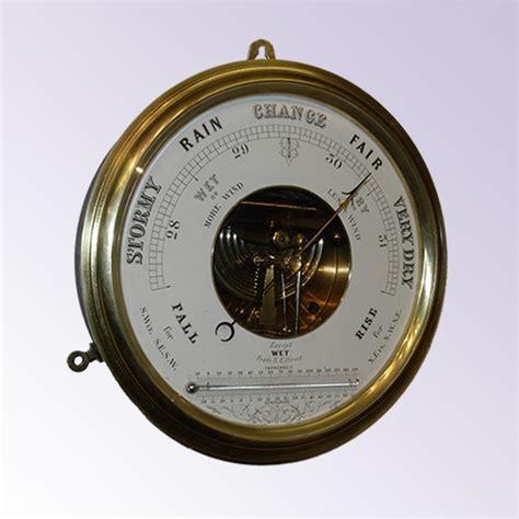 aneroid barometer thermometer barometers