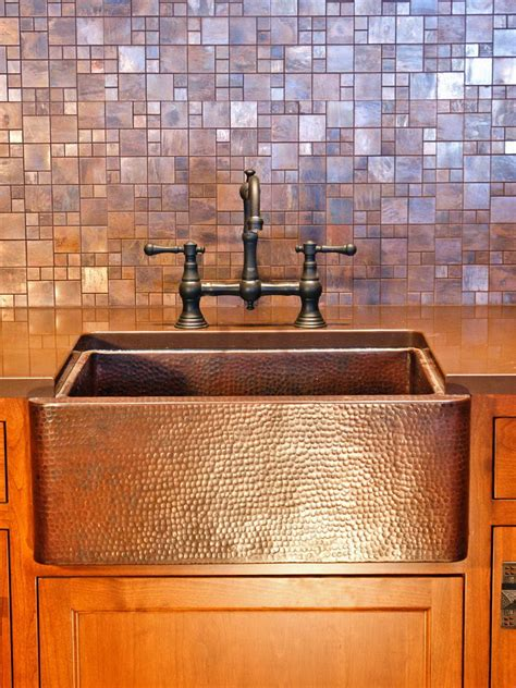 copper sheet kitchen backsplash home design ideas