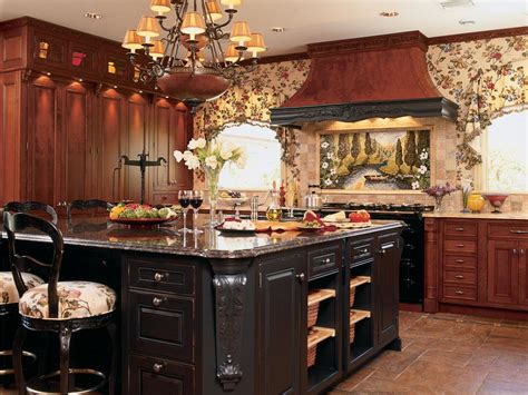 kitchen with large island photo page hgtv