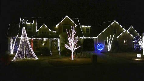 good feeling 2012 mcintire christmas light show edmond