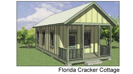 Cracker Cottage by Building Plans Single Family Florida Cracker Cottage