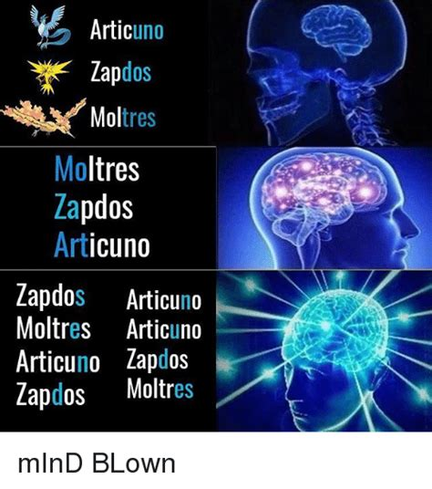 Mind Meme - artic uno dos mol tres moltres zapdos art zapdos articuno
