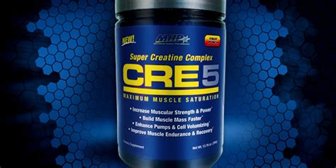 cre 8 creatine mhp cre5 stays true to its name with 5 different creatines