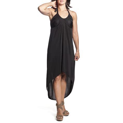 Halter Maxi Sundress 3 women s tie neck halter dress high low hi lo maxi
