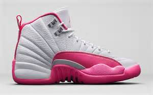 girls air jordan 12 retro vivid pink release date