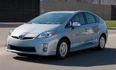 Toyota Prius In Hybrid Car And Driver