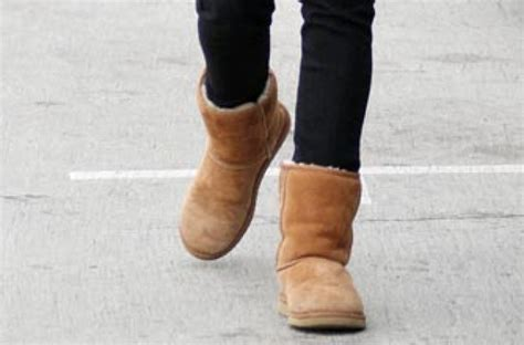 wearing ugg boots wearing ugg boots barefoot