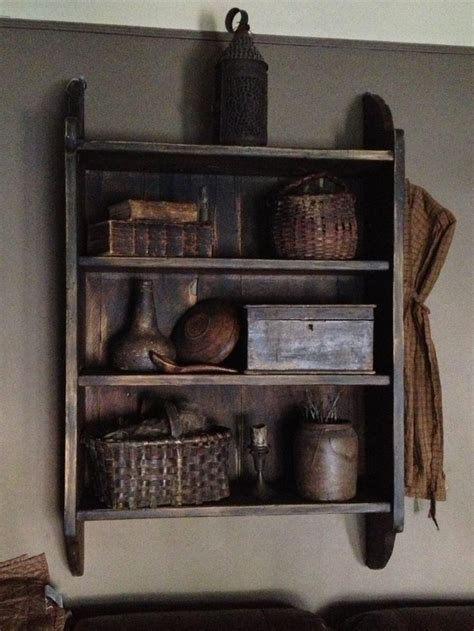 17 best images about primitive shelves and wall cabinets