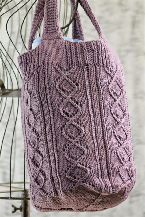tote bag knitting pattern 17 best images about bags knitted crocheted sewn on