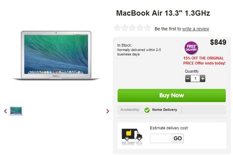 849 Macbook Is But Not That by Today Only Get A 2013 Macbook Air 13 3 Quot For 849
