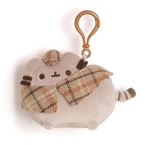 New Keychain Plush Pusheen Candycorn pusheen the cat detective pusheen clip on backpack plush