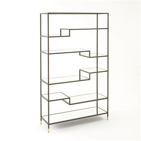 West Elm Bookcases tiered tower bookcase contemporary bookcases by west elm