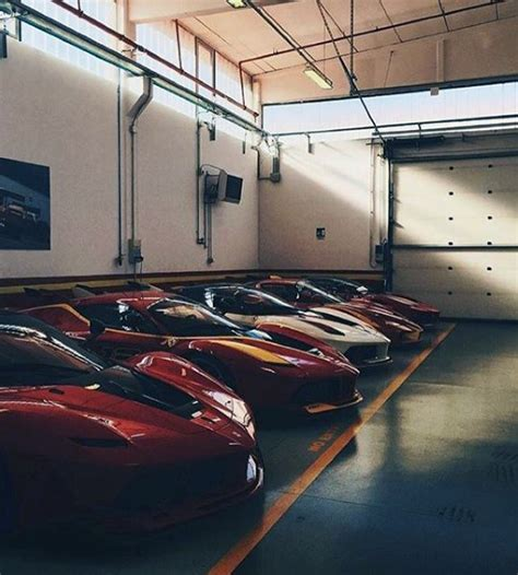 exotic cars lined top 100 best dream garages for men what cars would you