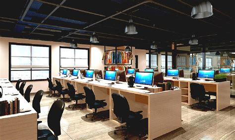 open office design modern open office interior design with work desk and