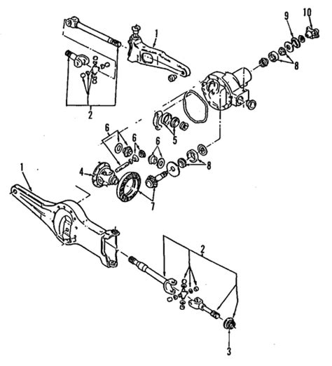 state pattern exles c front axle for 1992 ford explorer