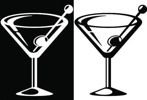 martini glass clip royalty free martini glass clip vector images