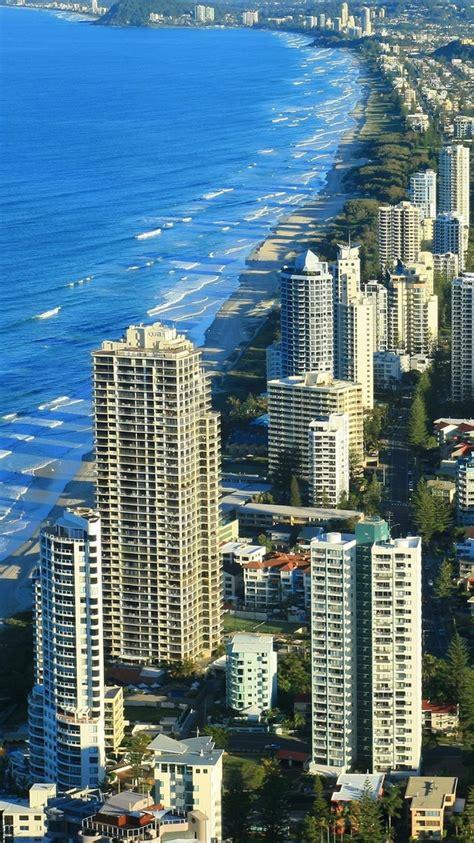 wallpaper gold coast australia gold coast australia beach line iphone 6 wallpaper ipod
