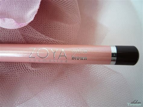 Eyeliner Pensil Zoya zoya cosmetics eyebrow pencil brown silver treasure