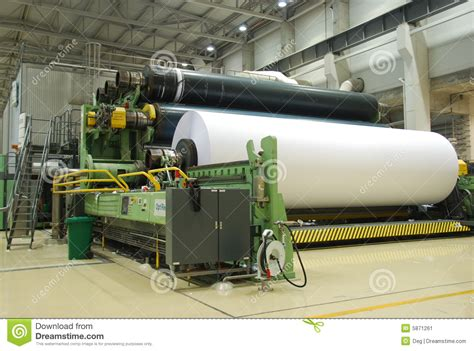 How To Make Paper Machine - paper machine stock image image 5871261