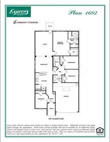 express homes floor plans 1682 austin abbey crossing princeton texas d r horton