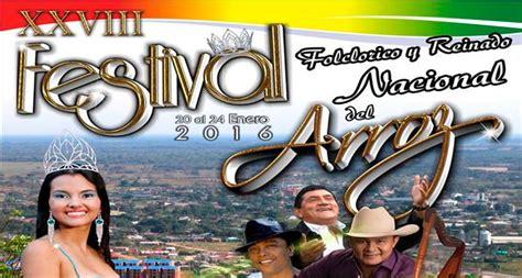 Festival Folclrico Y Reinado Nacional Del Arroz 2016 En | viaja por colombia turismo y hoteles en colombia