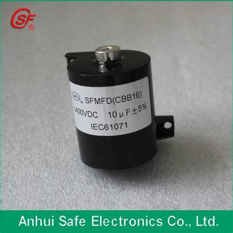 capacitor for inverter inverter welding machine capacitor 1400vdc 10uf cbb15 cbb16 csf saifu china manufacturer
