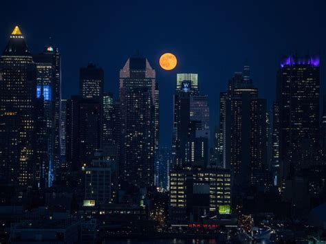 strawberry moon lights up sky in rare lunar event abc news strawberry moon lights up sky in rare lunar event abc news