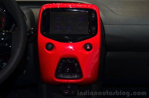 Touchscren Ts Andromax Ad686 C1 new citroen c1 multimedia touchscreen at geneva motor show 2014 indian autos
