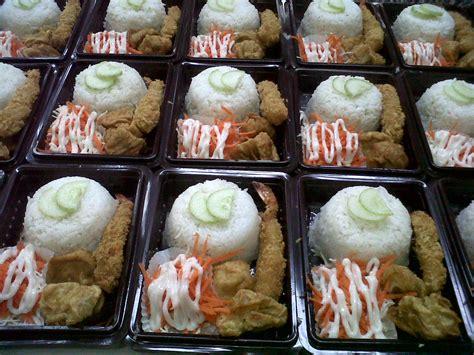 Cetakan Nasi Kotak dapurcabi paket nasi box anak anak