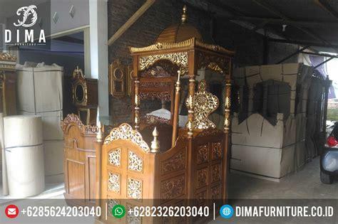 Mimbar Jati Untuk Masjid mimbar jati mimbar masjid jepara mimbar masjid jati