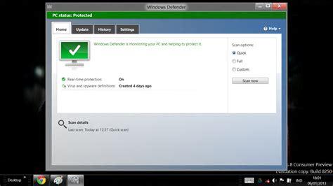 windows 8 defender turn on windows defender anti virus internal di windows 8 tips