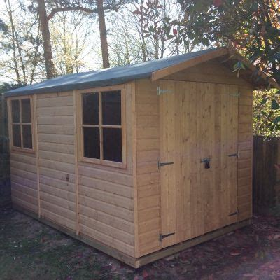 Garden Sheds 10 X 7 by Shire Guernsey Shed 10x7 One Garden