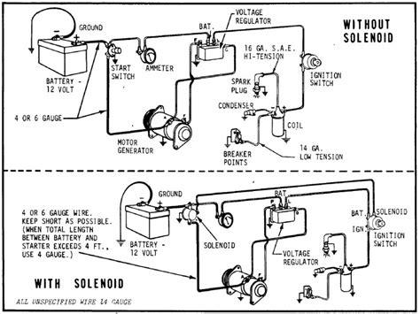 delco generator wiring diagram delco alternator wiring